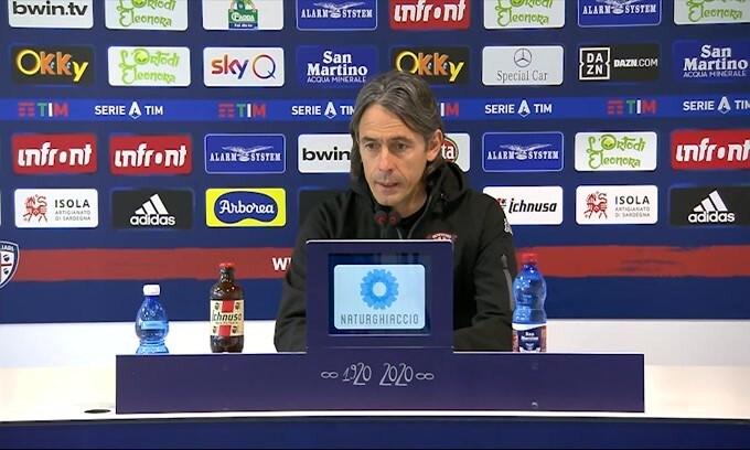 """Inzaghi: """"Dobbiamo mantenere questa umiltà"""""""