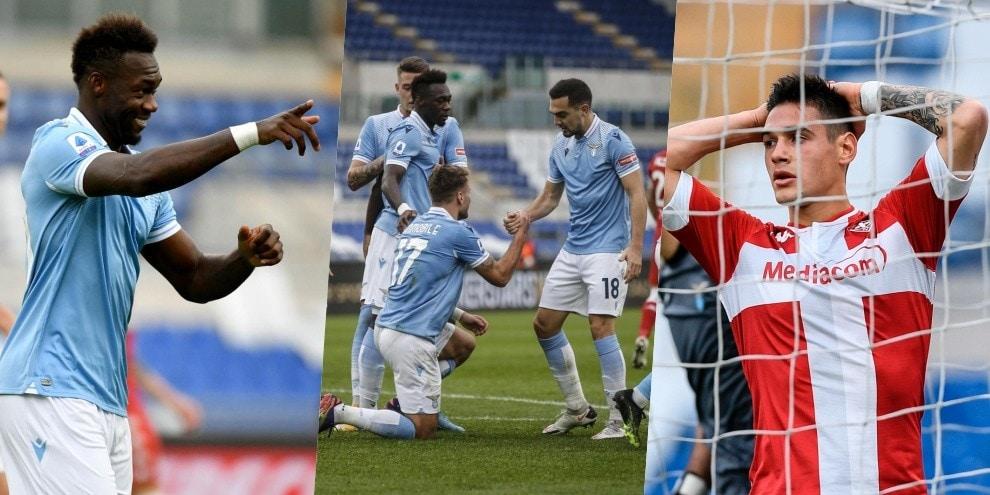 Lazio, tre punti con Caicedo-Immobile: Fiorentina battuta 2-1