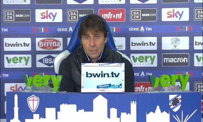 """Conte: """"L'Inter non ha avuto il braccino"""""""