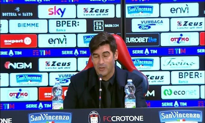 "Fonseca: ""Milan-Juve? Pensiamo solo a noi"""