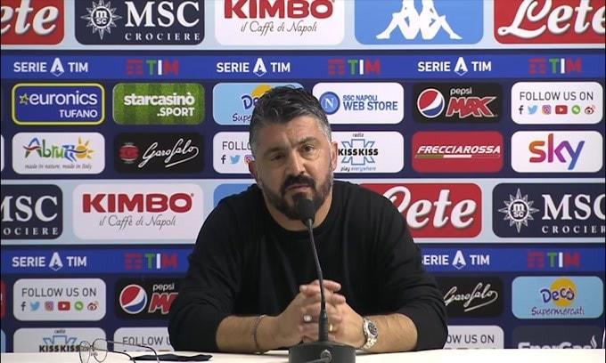 """Furia Gattuso con il giornalista: """"Ma che domande fai?"""""""