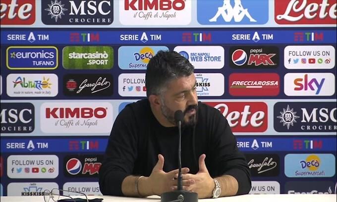 """Gattuso: """"Mercato? Non mi aspetto nulla"""""""