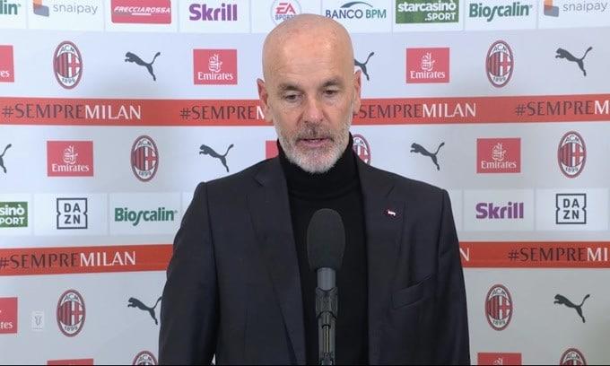 """Pioli: """"Il secondo gol ha cambiato la partita"""""""