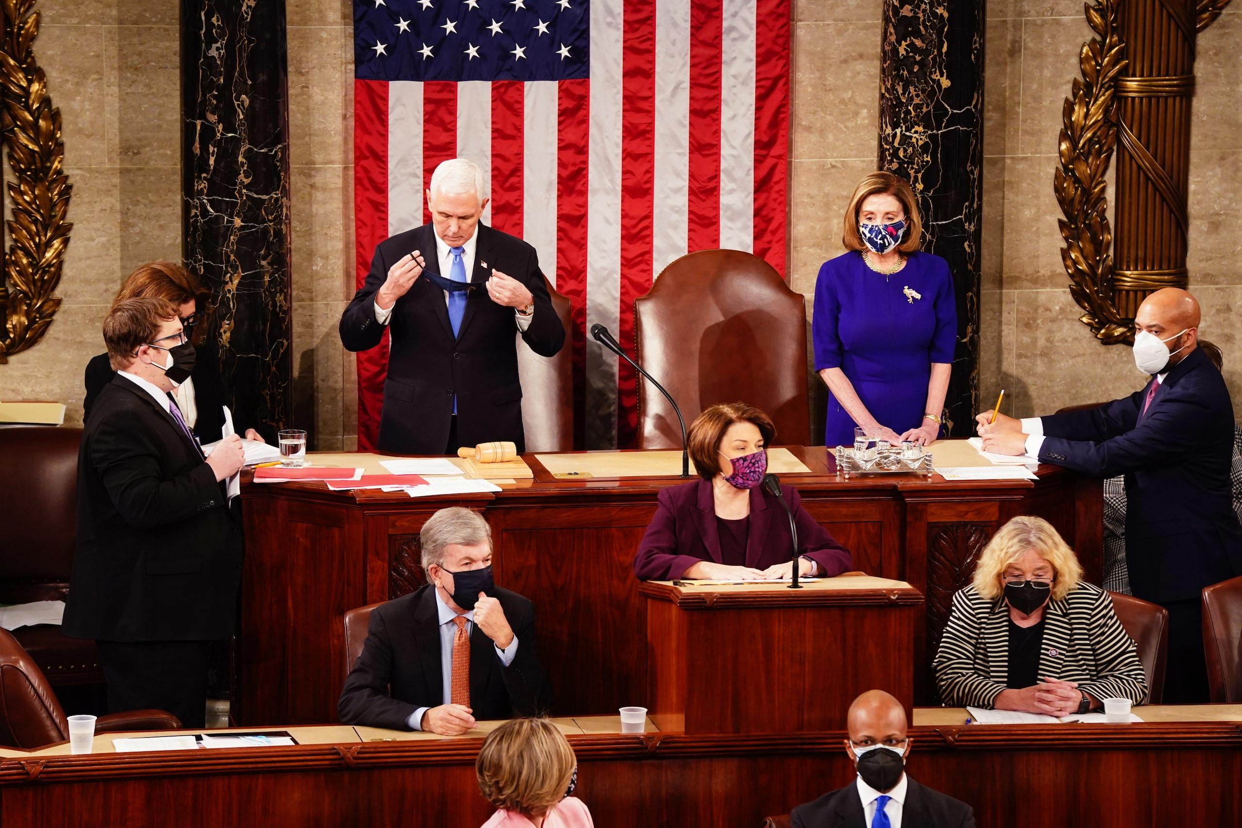 021801872 d9b1a5da 33eb 4e1d 8a64 6151c0238248 - Congresso Usa riprende per certificare vittoria Biden