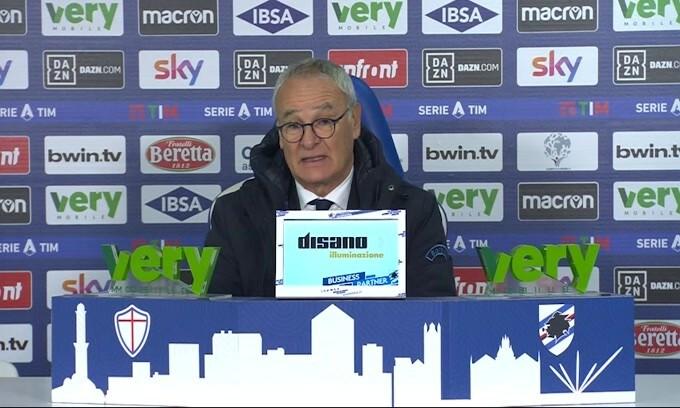 """Ranieri: """"Ridicolo giocare su un campo così"""""""