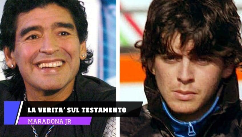 """Maradona Jr a Buenos Aires: """"Ecco la verità sul testamento di mio padre"""""""