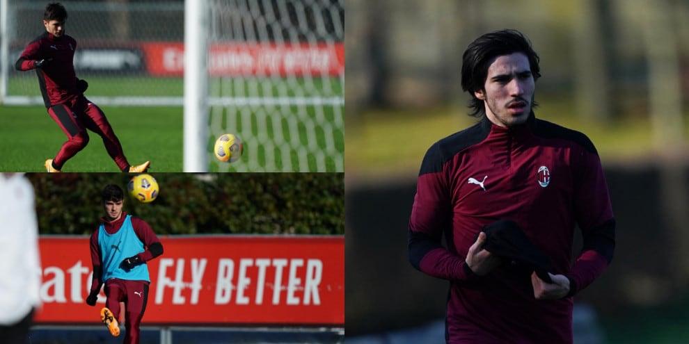 Milan, Tonali pronto per il Torino. Piede caldo per Brahim Diaz