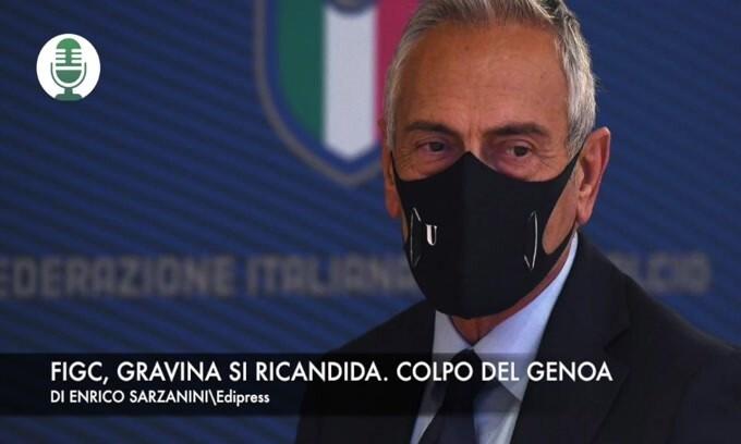 Figc, Gravina si ricandida. colpo del Genoa