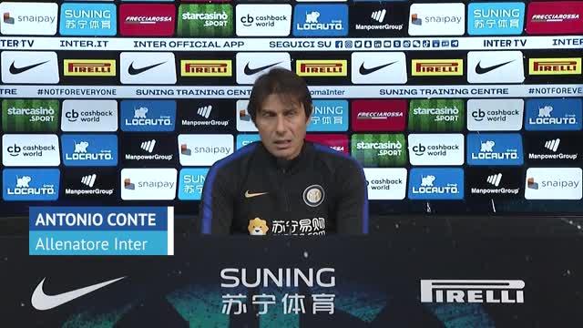 "Inter, Conte: ""Con Vidal uso bastone e carota"""