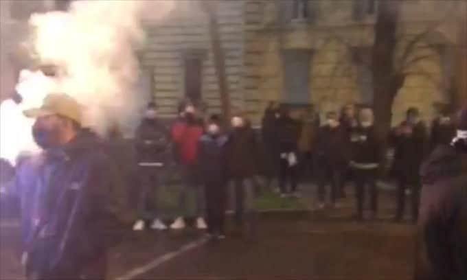 Lazio, la festa per i 121 anni a Piazza della Libertà