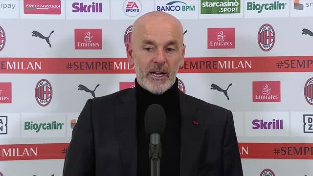 """Pioli: """"Più convinzione dopo la gara con la Juve"""""""