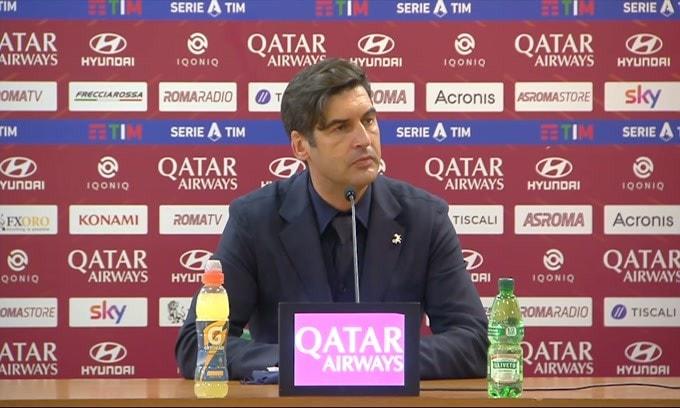 Fonseca parla, ma il microfono...