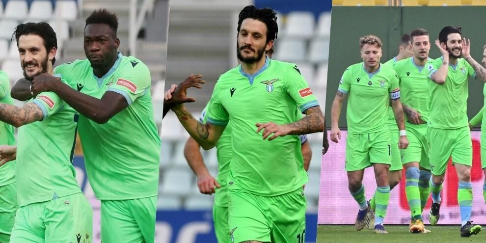 Lazio, festa di compleanno a Parma: Luis Alberto e Caicedo gol!