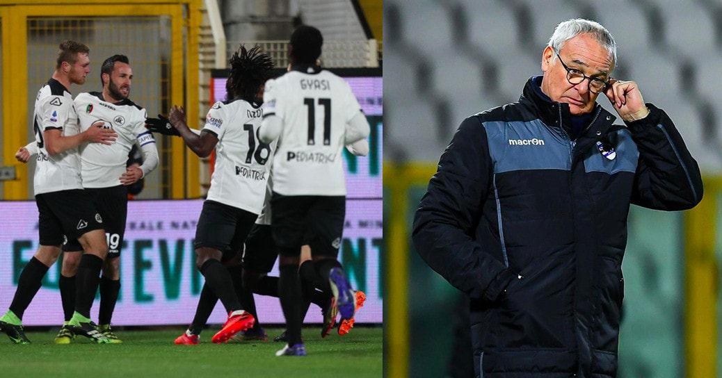 Spezia, segnano Terzi e Nzola: ko la Sampdoria di Ranieri