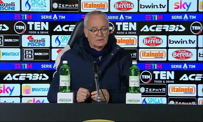 """Ranieri: Rigore? Non mi è sembrata una grande spinta"""""""