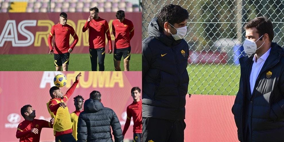 La Roma prepara il derby: Tiago Pinto a colloquio con Fonseca