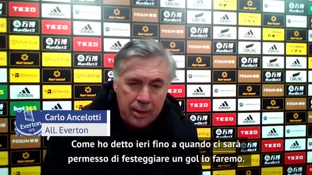 """Ancelotti: """"Lasciateci esultare, già c'è il VAR..."""""""