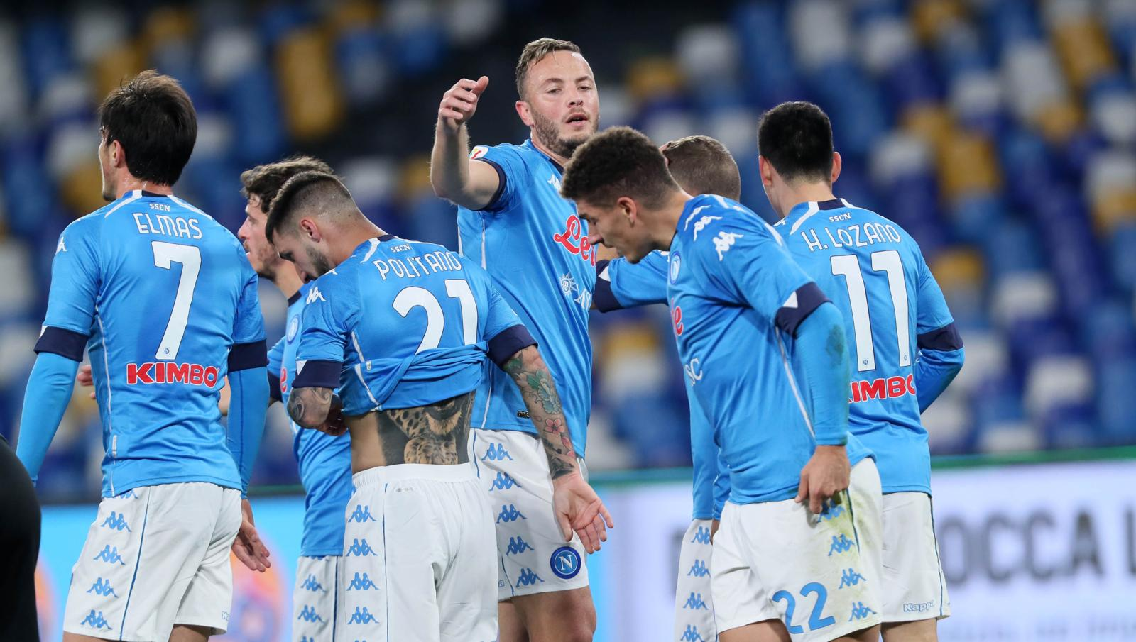 Coppa Italia: Bajrami spaventa il Napoli, ma Petagna mette ko l'Empoli