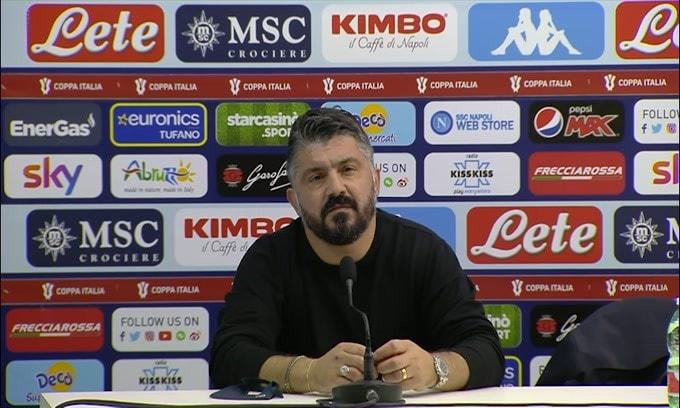 "Gattuso: ""Se penso ai tifosi mi viene la pelle d'oca"""