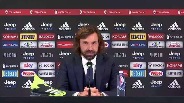 """Pirlo si coccola i suoi ragazzi: """"Era la prima per tanti, brava Juve"""""""