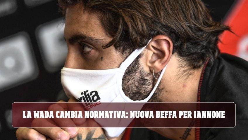 Doping: Iannone sbotta per le nuove sanzioni per droga in MotoGP
