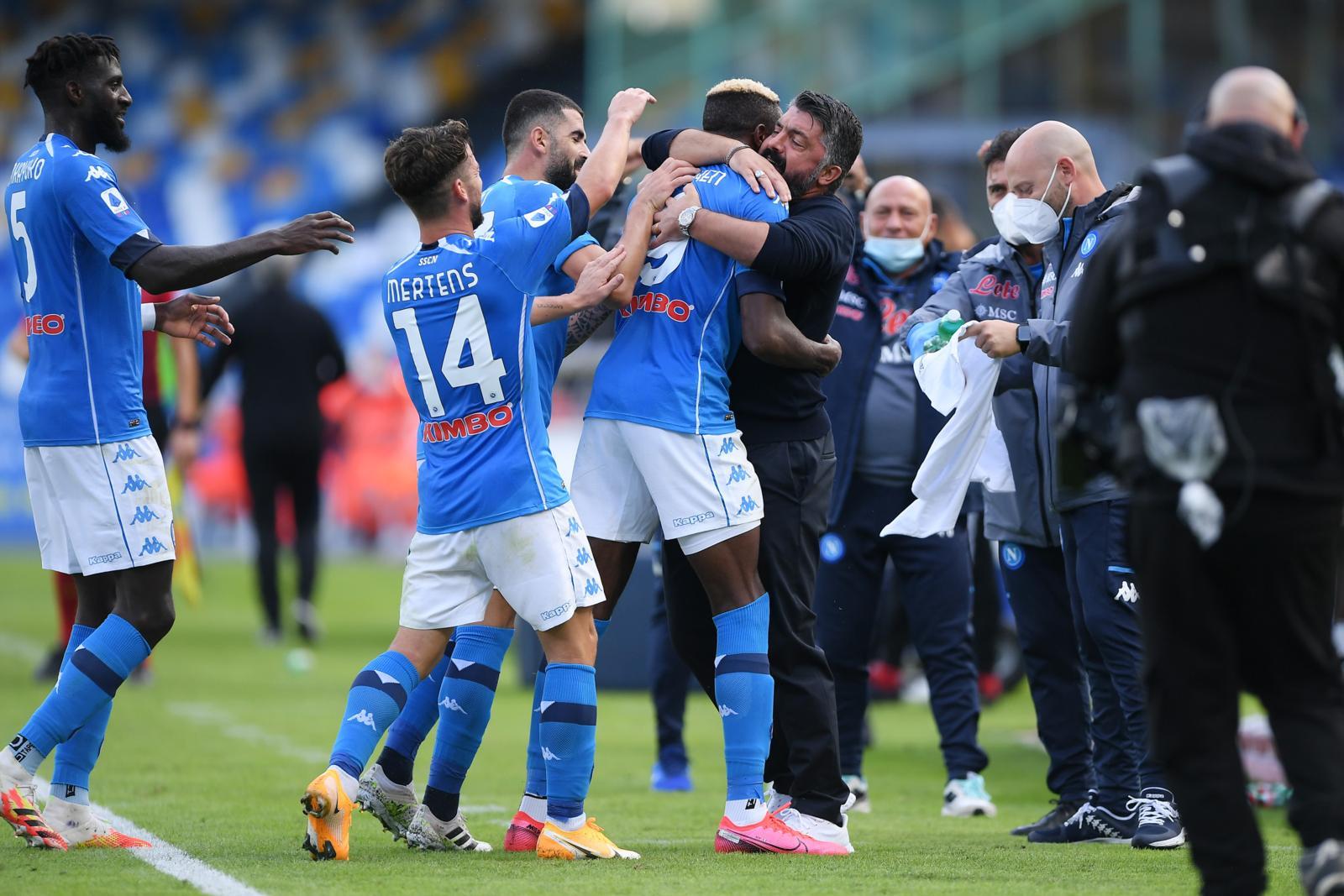 Gattuso porta tutti a pranzo per ricompattare il Napoli