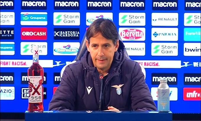 """Simone Inzaghi: """"Sappiamo il significato del derby di Roma"""""""
