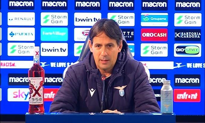 """Simone Inzaghi: """"Felici per il rientro di Lulic"""""""