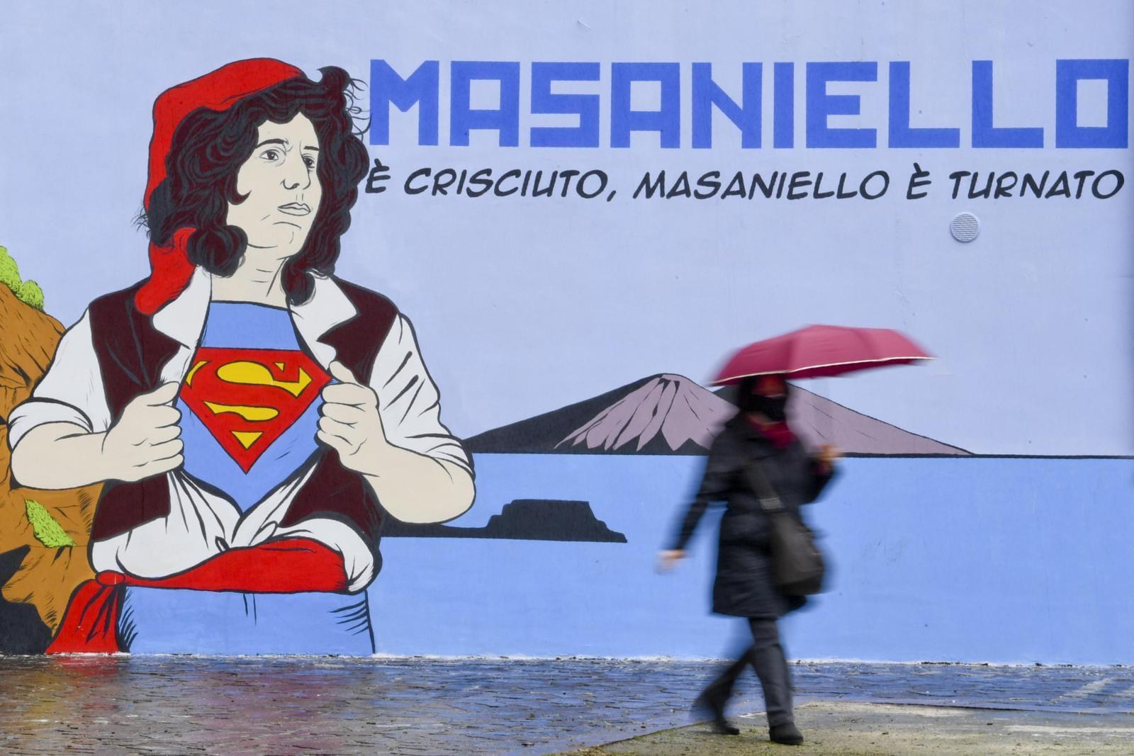 Napoli, Masaniello è Pino Daniele