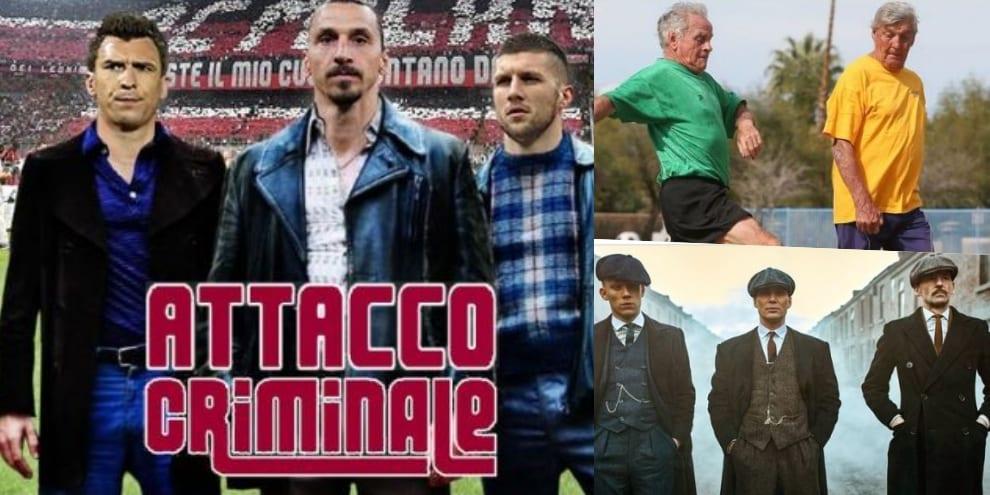Milan, Mandzukic e Ibrahimovic insieme: i social li vedono così