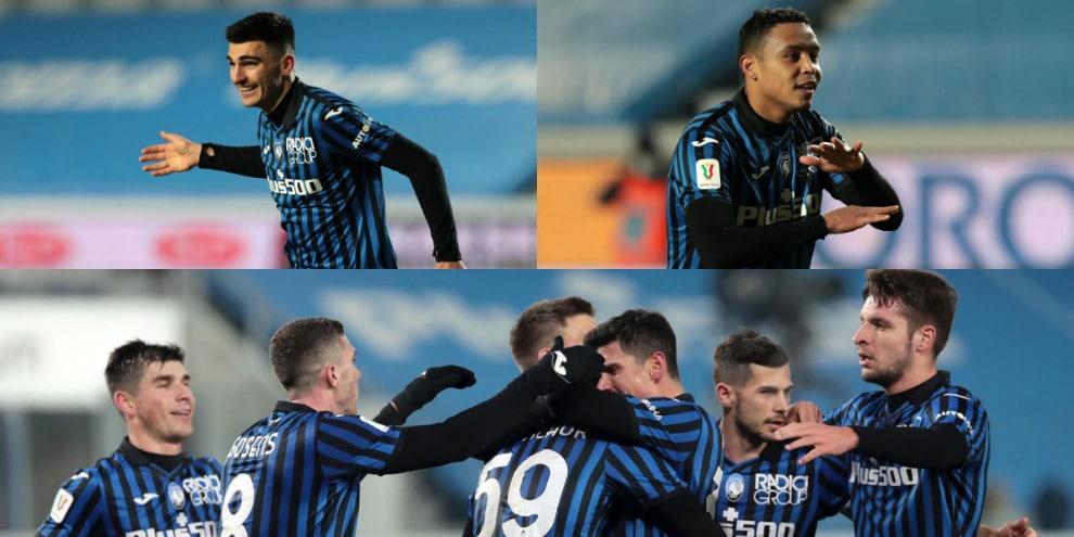 L'Atalanta vola ai quarti di Coppa Italia. Ennesimo ko per il Cagliari