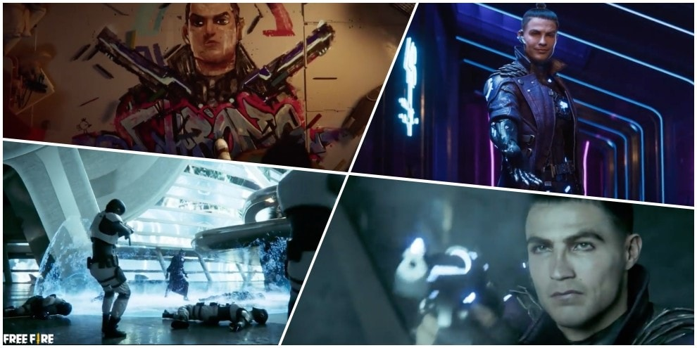 Cristiano Ronaldo samurai supereroe: trailer pazzesco per il suo Free Fire