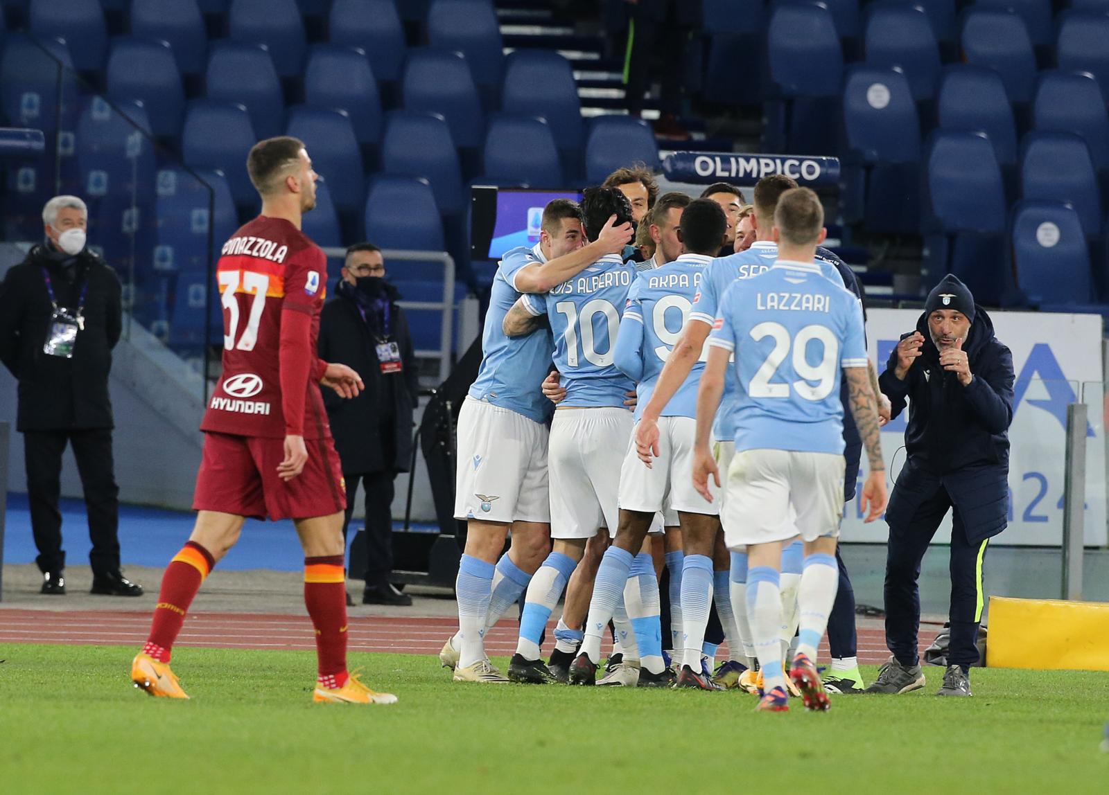 Lazio-Roma 3-0: doppio Luis Alberto e Immobile, trionfo di ...