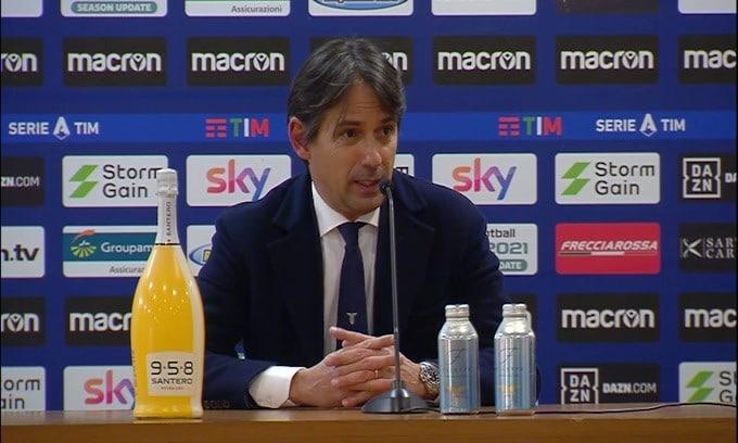 """Simone Inzaghi: """"Grazie ai tifosi che non ci hanno fatto sentire soli"""""""