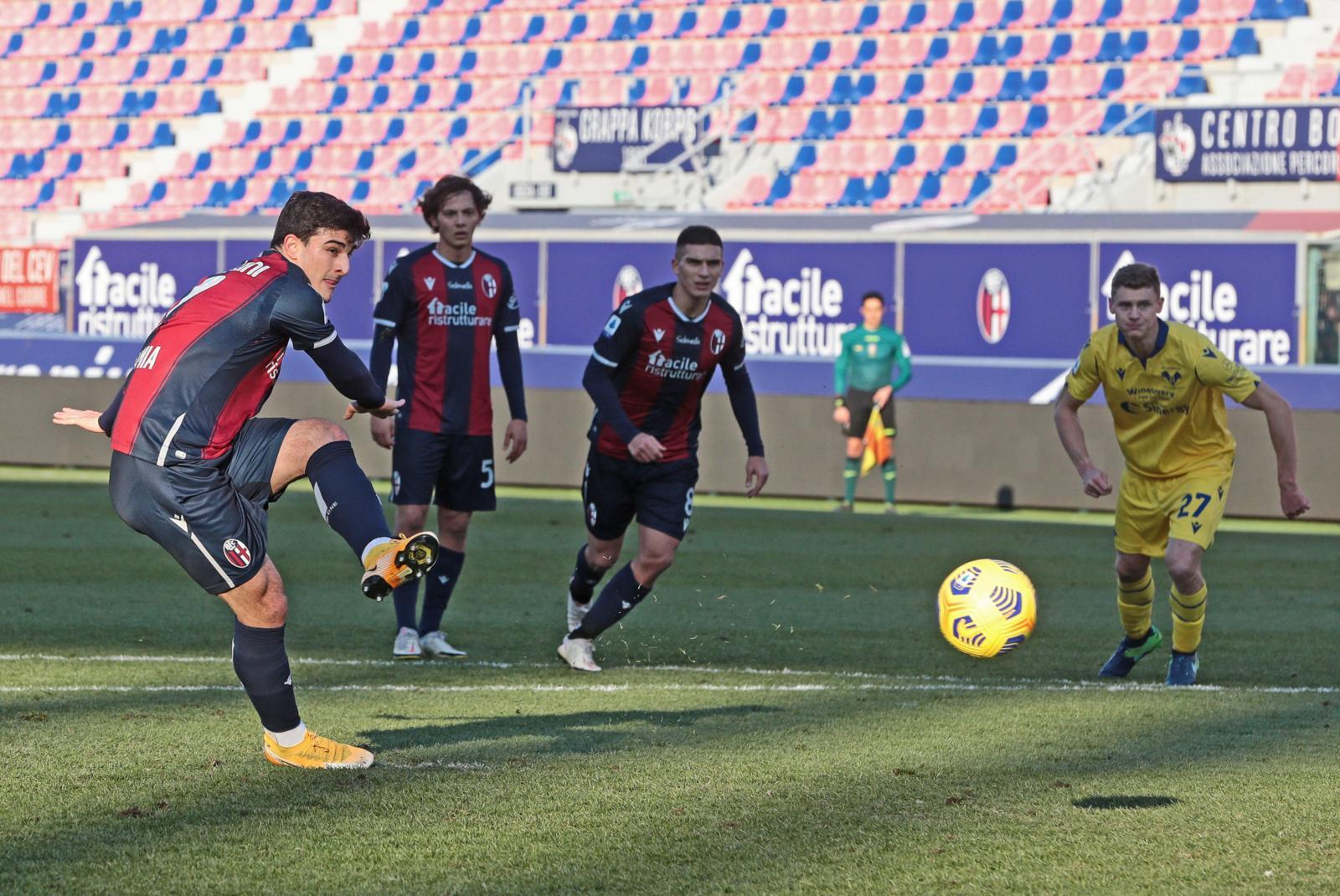 Bologna-Verona 1-0: Orsolini riporta Mihajlovic alla vittoria