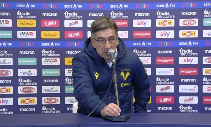 """Juric: """"Abbiamo regalato il gol al Bologna"""""""