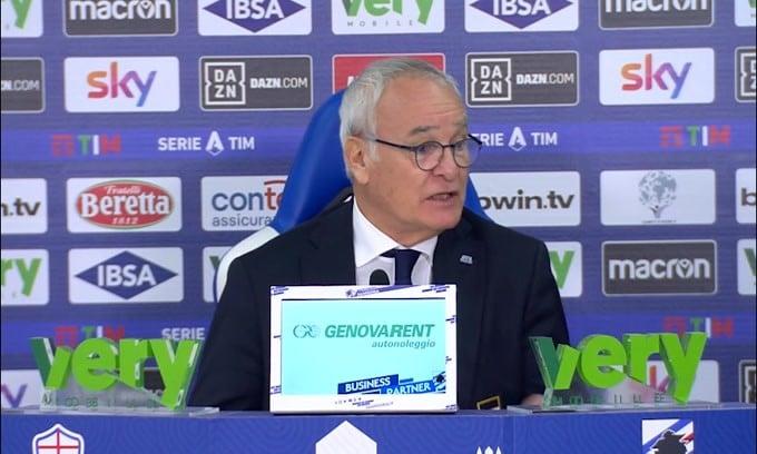 """Ranieri: """"Quagliarella deluso dal cambio? É normale.."""""""