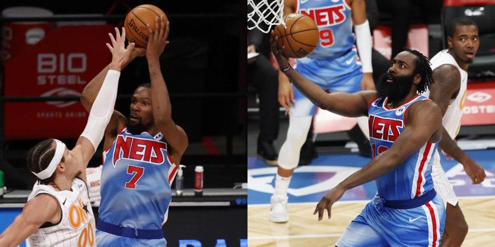 Nba, Harden e Durant: che spettacolo alla prima insieme coi Nets