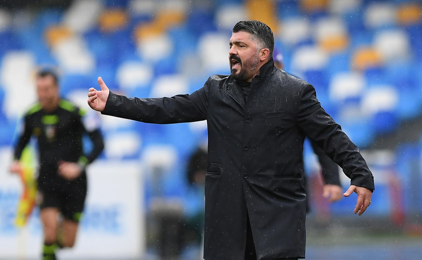 Juve-Napoli, la probabile formazione di Gattuso