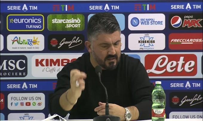 """Gattuso: """"Con la Juve non partiamo battuti"""""""