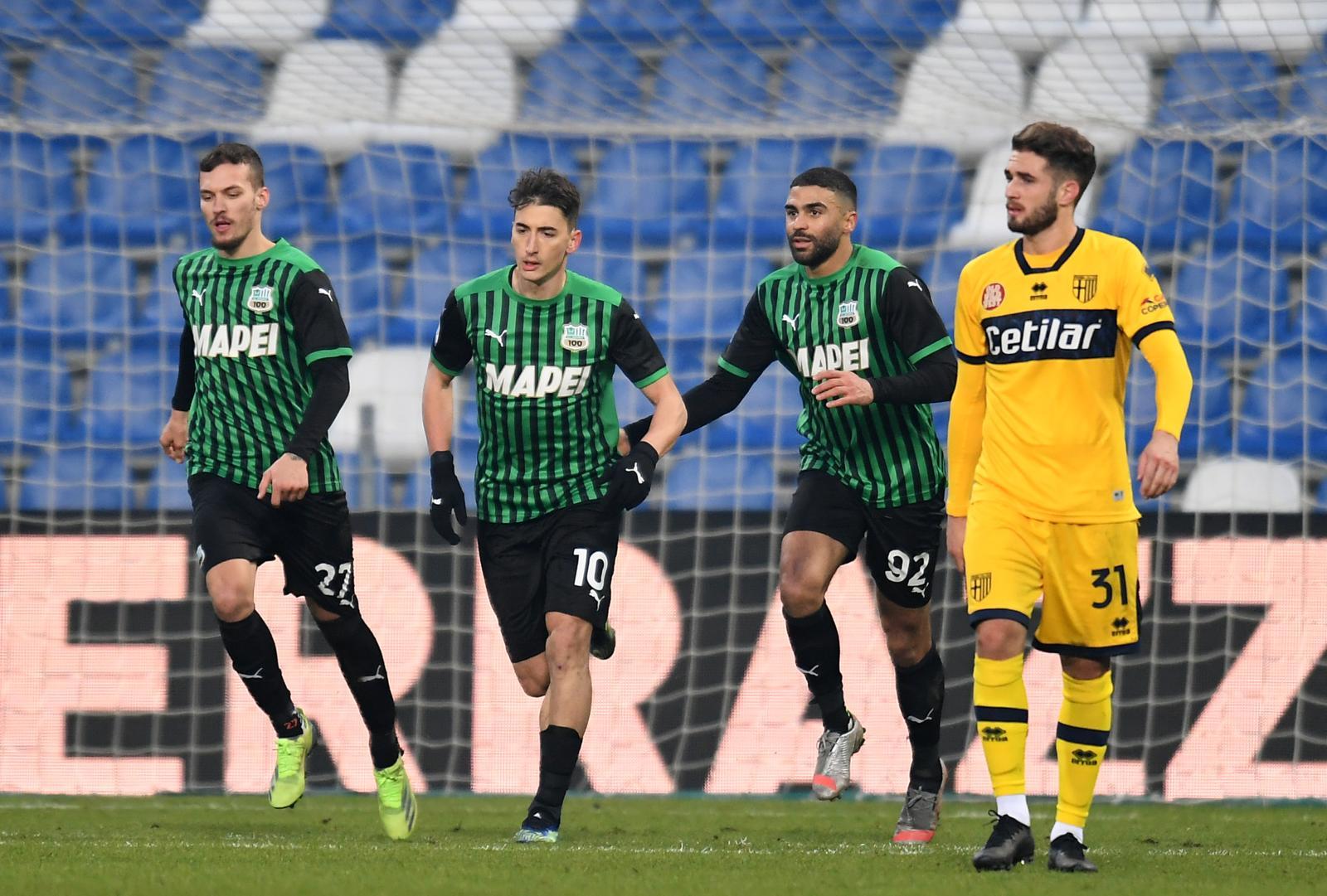Djuricic allo scadere! Il Sassuolo strappa il pari al Parma