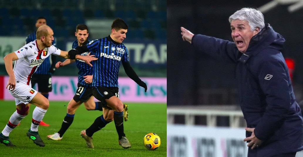 Atalanta bloccata sullo 0-0 dal Genoa: stop per Gasperini