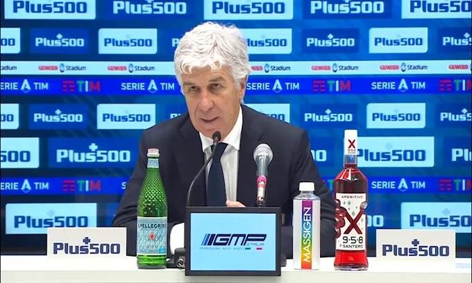 """Gasperini: """"L'Atalanta meritava di vincere"""""""