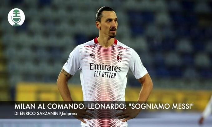 """Milan al comando. Leonardo: """"Sogniamo Messi"""""""