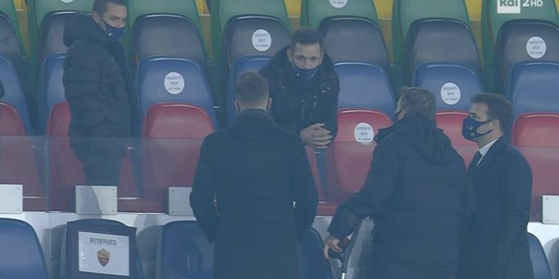 Roma, i Friedkin e Pinto parlano dopo il ko contro lo Spezia