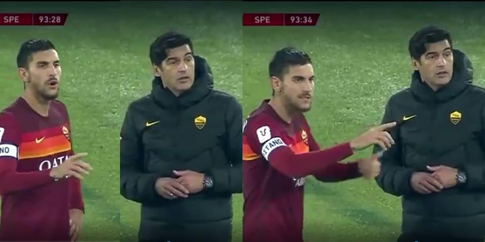"""Pellegrini accanto a Fonseca, il labiale sul cambio: """"E' il sesto..."""""""