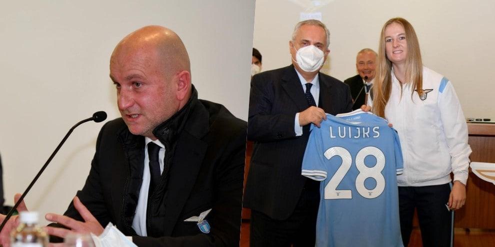 Lazio, Lotito presenta il progetto 'ARP'