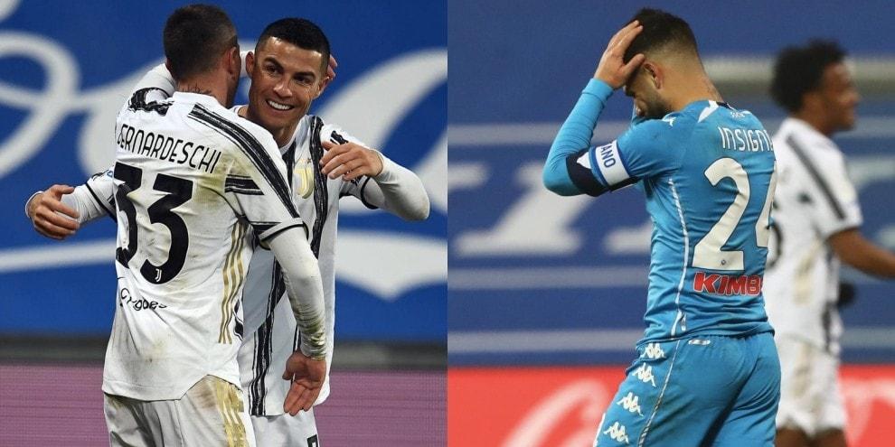 Ronaldo segna e Insigne spreca: Napoli ko, la Supercoppa è della Juve