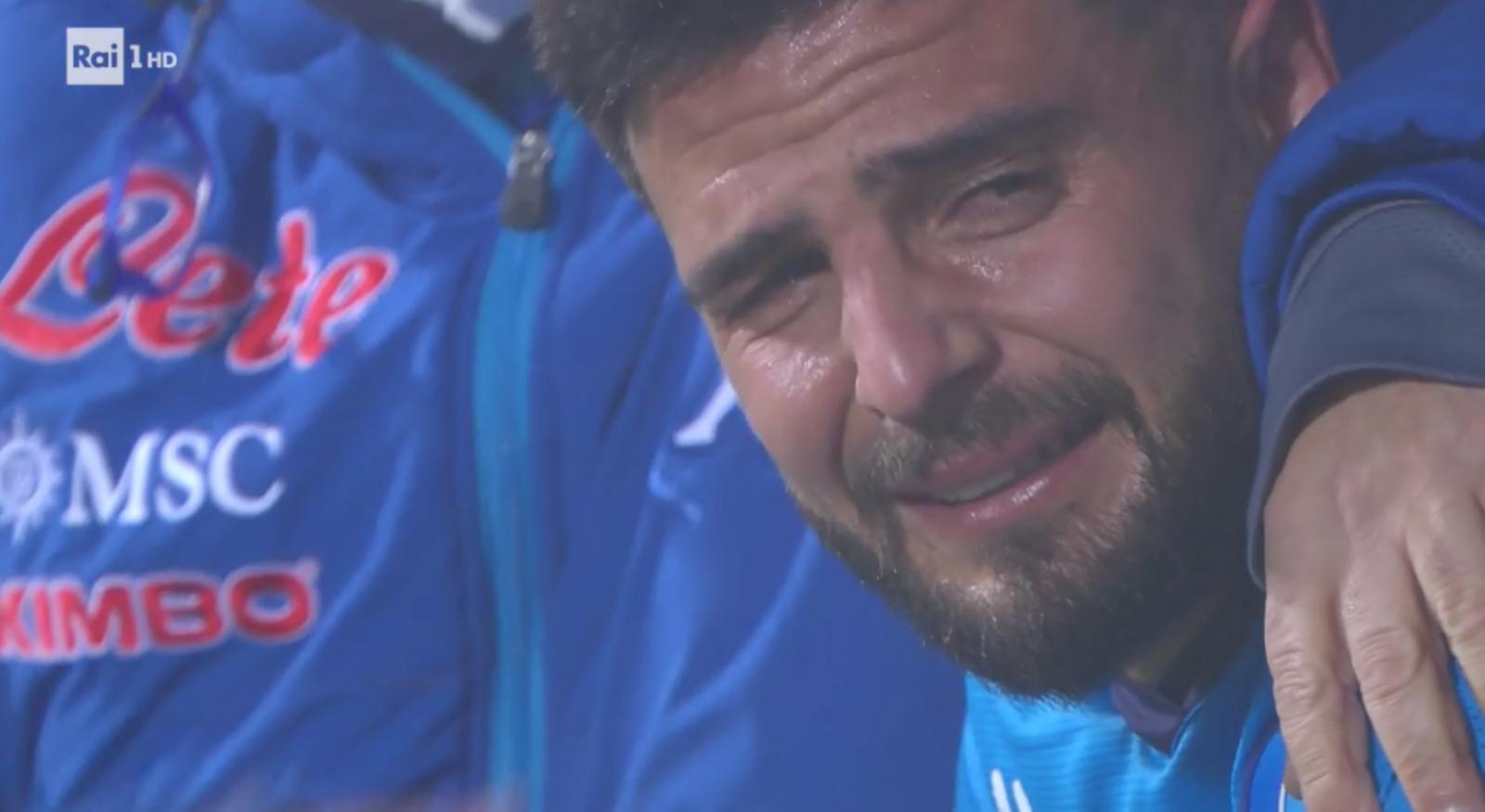 Insigne, serata nera in Supercoppa: rigore sbagliato e lacrime