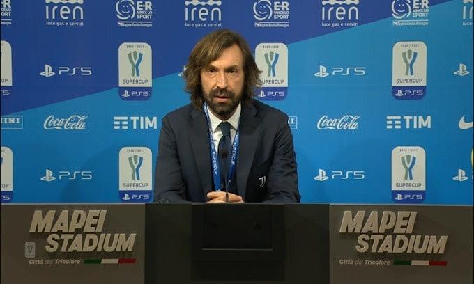 """Pirlo: """"La Juve ha giocato con orgoglio"""""""
